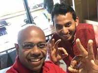 Impromptu celebration, yummy cheesecake: Aditya Ghosh completes 1 year as OYO CEO, thanks Ritesh Agarwal