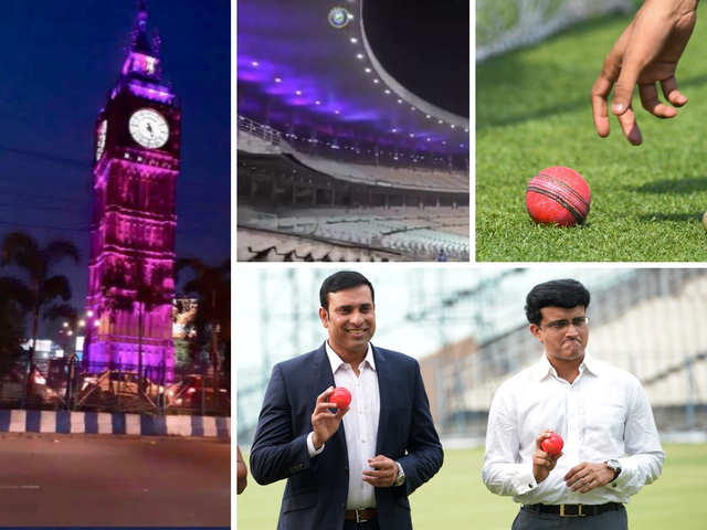 The Significance Of The Pink Ball History In Making Kolkata Shimmers In Pink As India Gears Up For First Day Night Test The Economic Times