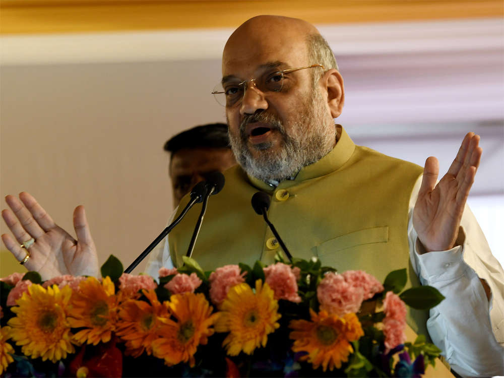 Congress stalled Ayodhya Case, played politics on J&K for 70 years: Shah