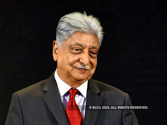 """In his speech, Azim Premji said, """"if people are very wealthy they should use a substantial part of it for the public good""""."""