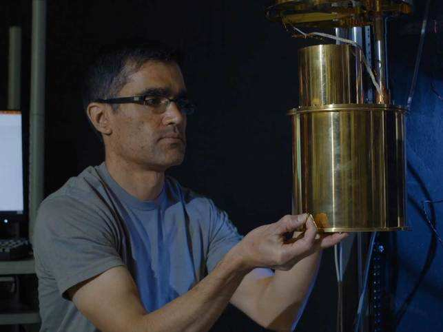 NIST electronics engineer Varun Verma  explains how a new NIST camera, made of nanometer-scale wires, could efficiently capture light from atmospheres of extrasolar planets that possibly harbor life.