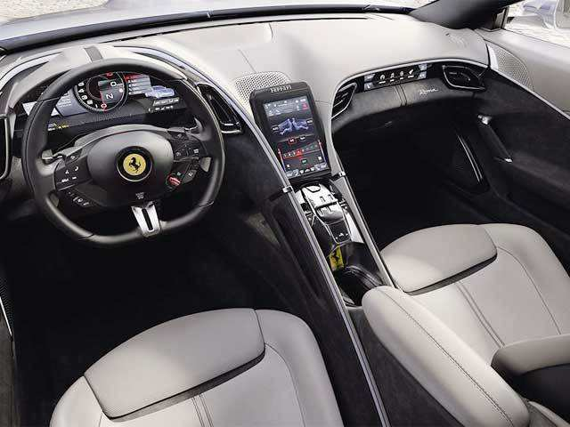 The New Ferrari Roma Is The Prettiest Ferrari In A Long Time Clients The Economic Times