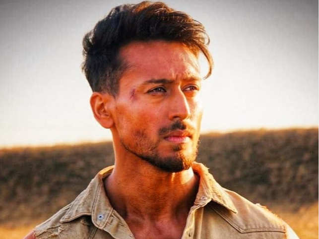 Tiger Shroff took to Instagram to show his 'scrapes and minor cuts from the battlefield'.