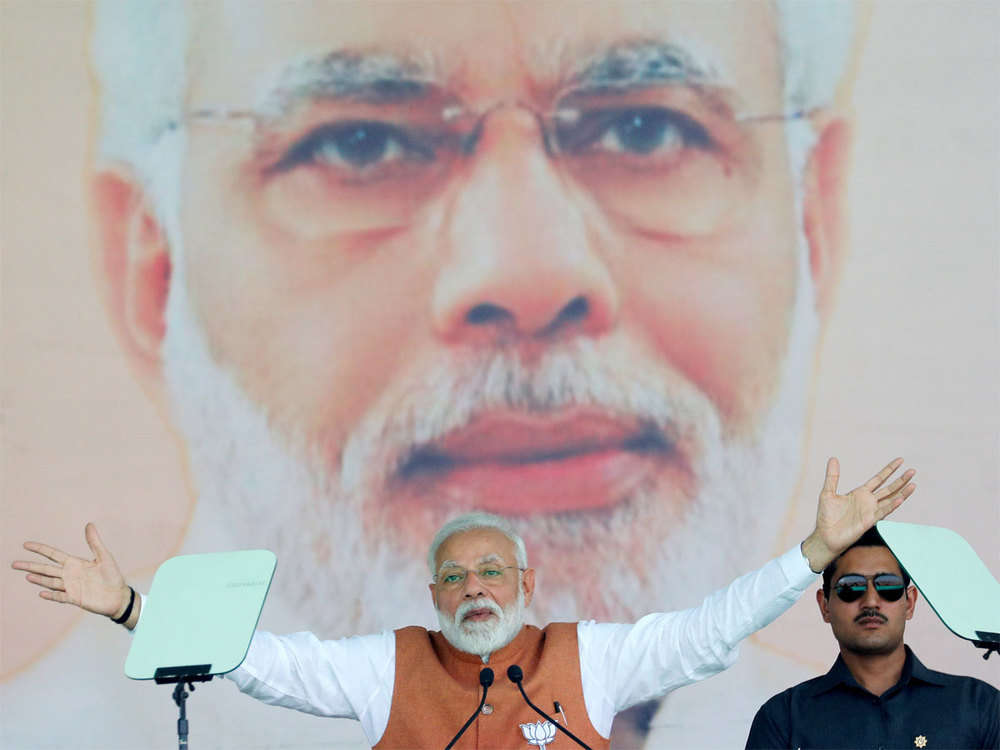 Congress kept Ayodhya, J&K pending for votes: Narendra Modi