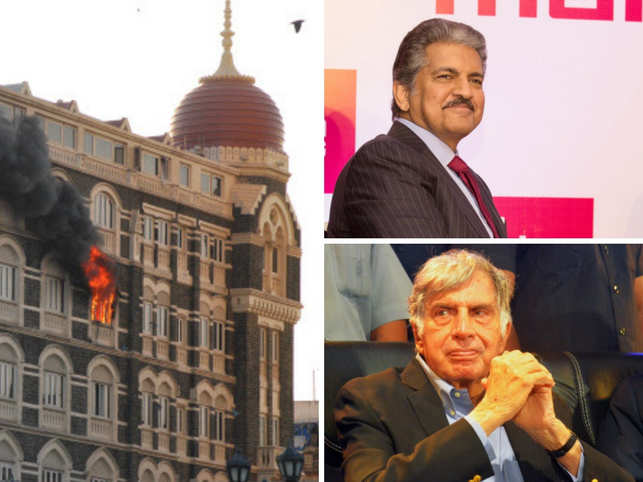 Anand Mahindra and Ratan Tata penned beautiful tributes for the heroes who lost their lives on the fateful day.