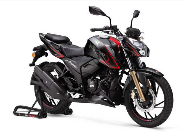 TVS unveils BSVI-compliant Apache RTR 4V range with race tuned-fuel injection tech at Rs 1.24 lakh