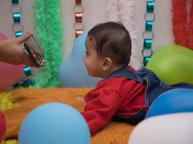 Children's average daily time spent on screens increased from 53 minutes at age 12 months to more than 150 minutes at 3 years.