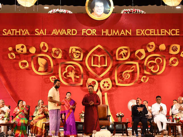 The award recognises those who have led a life of service and sacrifice to serve mankind in various fields of social relevance.