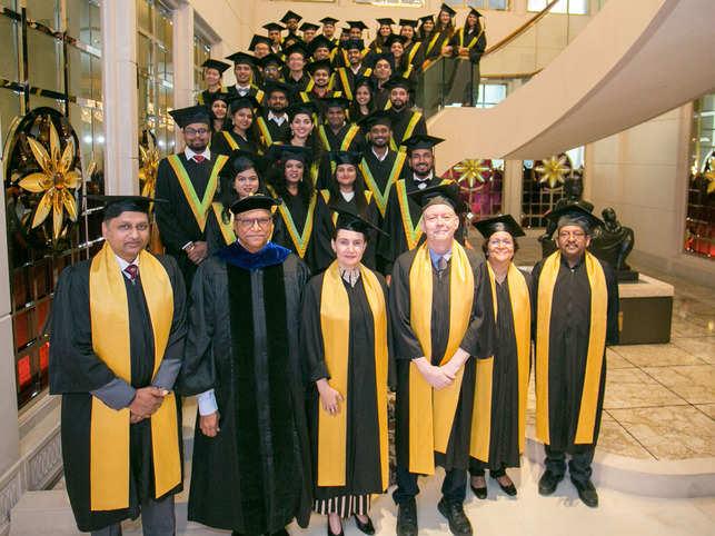 The graduation event of SP Jain Global was held in September.