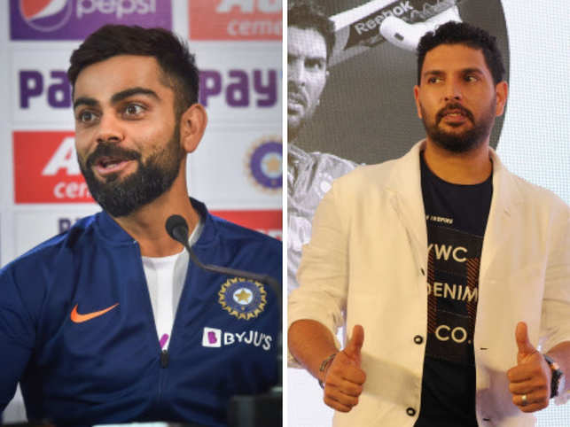 Virat Kohli (left) and Yuvraj Singh (right) open up about dealing with sports injuries, pain and wear and tear.