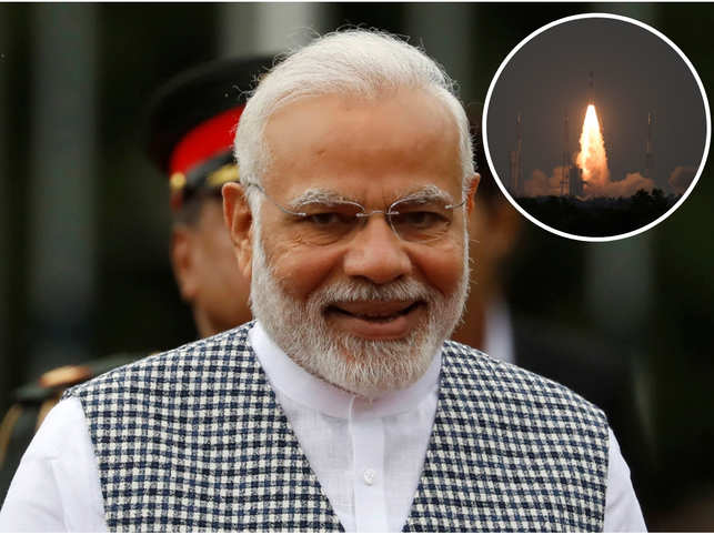Prime Minister Narendra Modi could not keep calm and took to Twitter to congratulate ISRO for CARTOSAT-3 success.