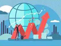 Sensex jumps 199 pts; Nifty hits record high of 12,110