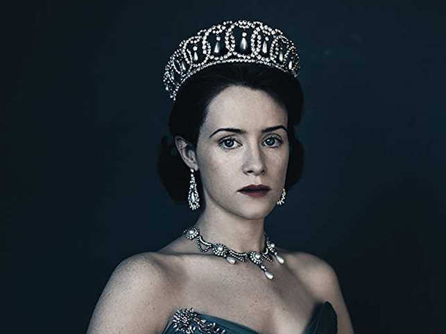 Claire ​Foy (in pic) was replaced by Academy Award winner Olivia Colman​.