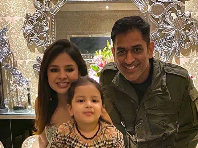 ​MS Dhoni said that wife Sakshi calls the shots at home.​