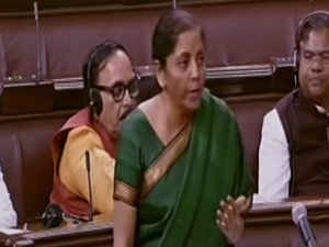 Growth may have come down but its not a recession, says Nirmala Sitharaman in Rajya Sabha
