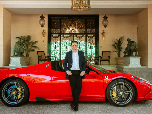 """I'm a passionate car collector, and I like to own all types of cars,"" says Poonawalla."