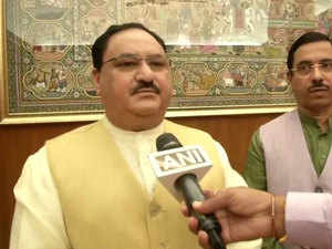 JP Nadda recommends Pragya Thakur's removal from consultative committee on defence