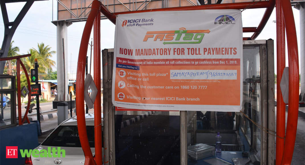 FASTag | Electronic Toll Collection: FASTag mandatory for