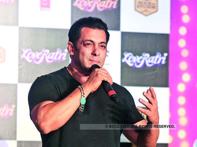 Salman Khan turned producer for 'Loveyatri' which release last year.