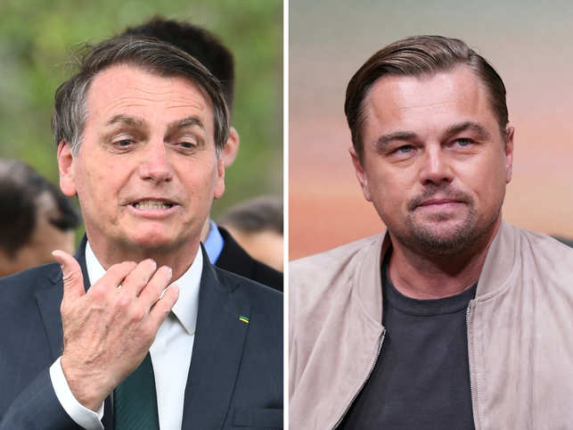 Brazilian President Jair Bolsonaro didn't present any evidence on his claims that Leonardo DiCaprio financed fires being set in the Amazon rainforest.