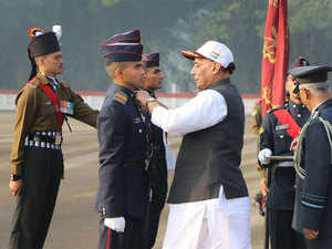 284 cadets pass out from NDA