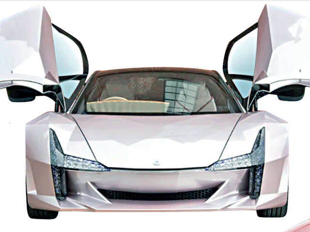 Agricultural waste, recycled plastic & cotton fibres: Concept cars built with unique materials