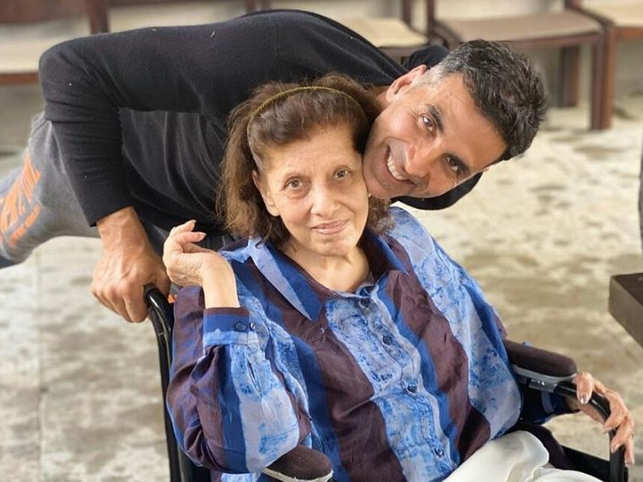 Last month, ​Twinkle Khanna and Akshay Kumar celebrated Betty Kapadia's 80 birthday in Shillim.