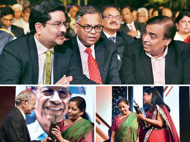 ET Awards 2019: Many Shades Of Blue, Banter, And Boardroom Stars Feted -  Winning Moments | The Economic Times