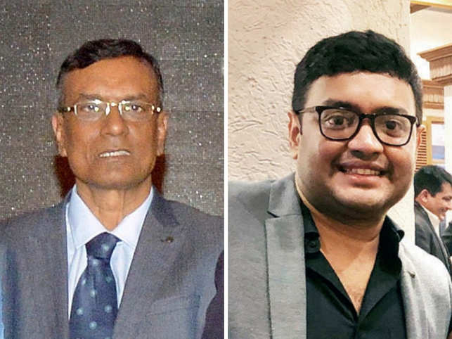 Sriharsha Majety (L) said that Bandhan Bank's story was amazing. In pic: (Chandra Shekhar Ghosh (R), Managing Director of Bandhan Bank)