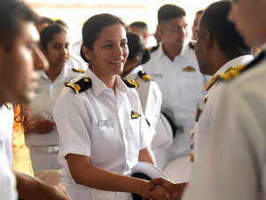 Sub-Lieutenant Shivanji becomes navy's first woman pilot