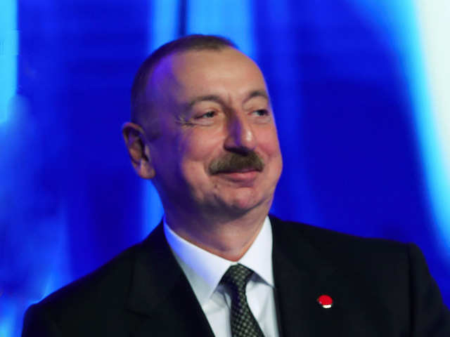 Image result for Sultan Ilham Aliyev is in Davos, and Blogger Elvin Isayev is in prison.