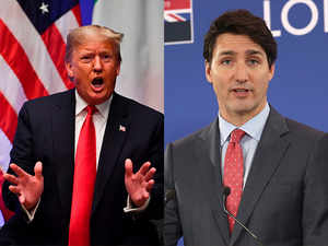 Trump slams Justin Trudeau as being 'two-faced'