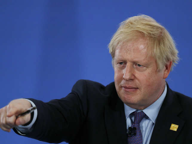 Johnson thought the comment he made was actually quite well put and entirely reasonable.