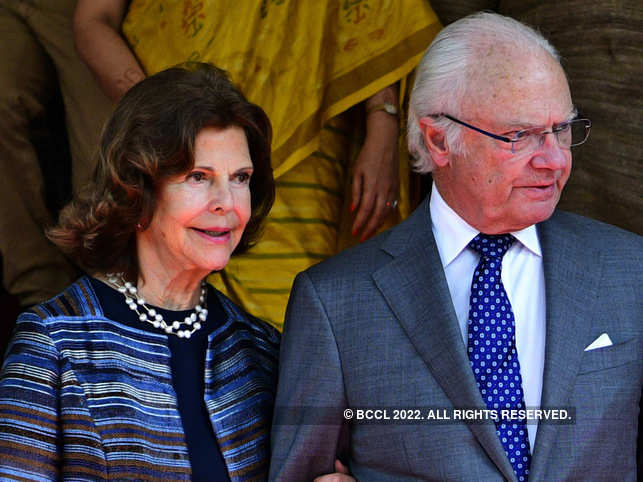 King Carl Gustaf and Queen Silvia is used to taking commercial flights as it is more 'practical and convenient'. 