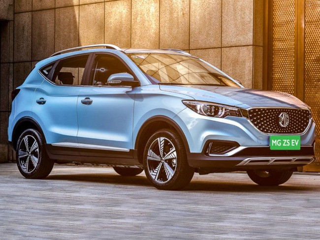 Mg Motor Zs Ev Mg Motor Introduces Zs Ev After Hector Says Launch Due In January The Economic Times