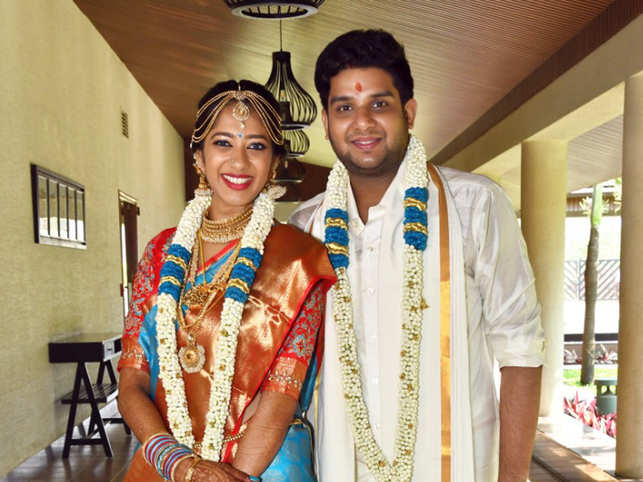 A Bollywood-themed sangeet, pool party, and traditions: Indostar CEO R Sridhar's son ties the knot in three-day extravaganza