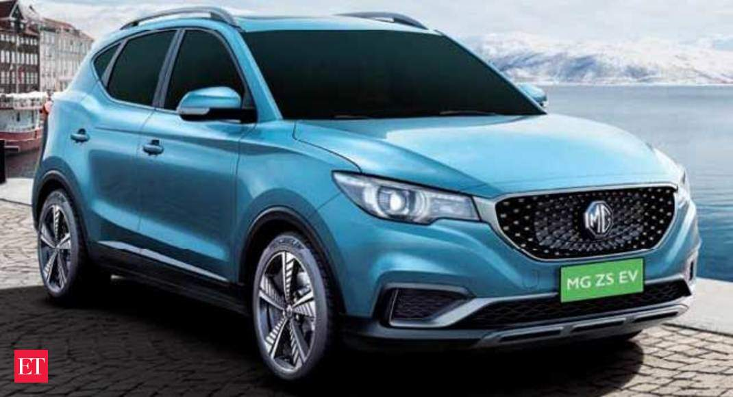 MG Motor unveils its first electric car in India - ​MG Motor unveils its electric SUV car ZS - Economic Times thumbnail