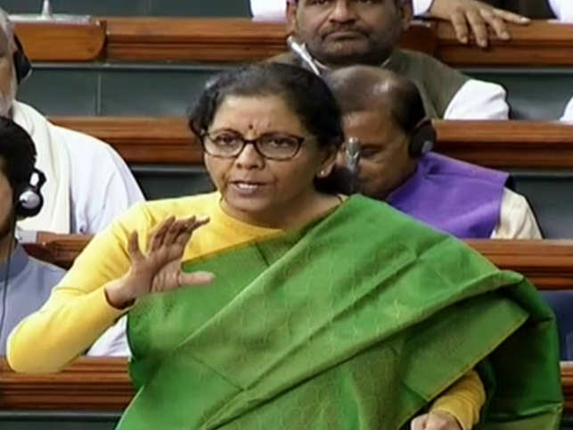 Sitharaman said that she comes from a family that doesn't eat onion and garlic.