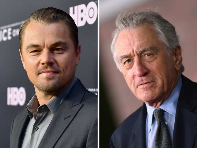 Leonardo DiCaprio and Robert De Niro have shared the screen space in films such as 'This Boy's Life'.