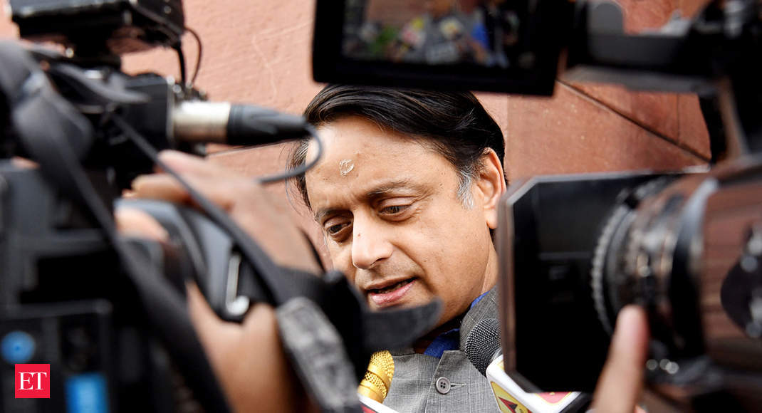 Passage of Citizenship Bill in Parliament will mark victory of Jinnah's thinking over Gandhi's: Tharoor
