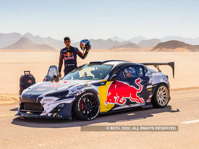 ​Drifting on the beautiful mountain roads of Jordan also lead Gurpreet Singh​ to end up in a ditch. ​