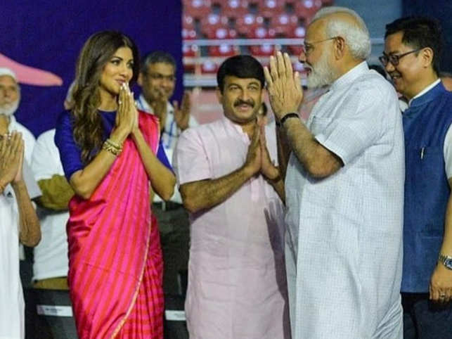 Shilpa Shetty (left) tagged PM Modi (right) on her Instagram post, urging him to formulate stricter laws.