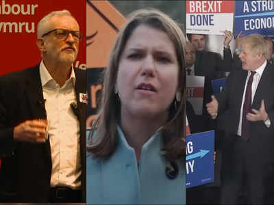 UK party leaders in final week of campaigning