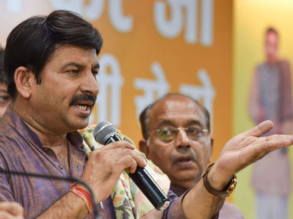 Delhi BJP chief Manoj Tiwari drops Jai Prakash as vice president, move surprises many in party