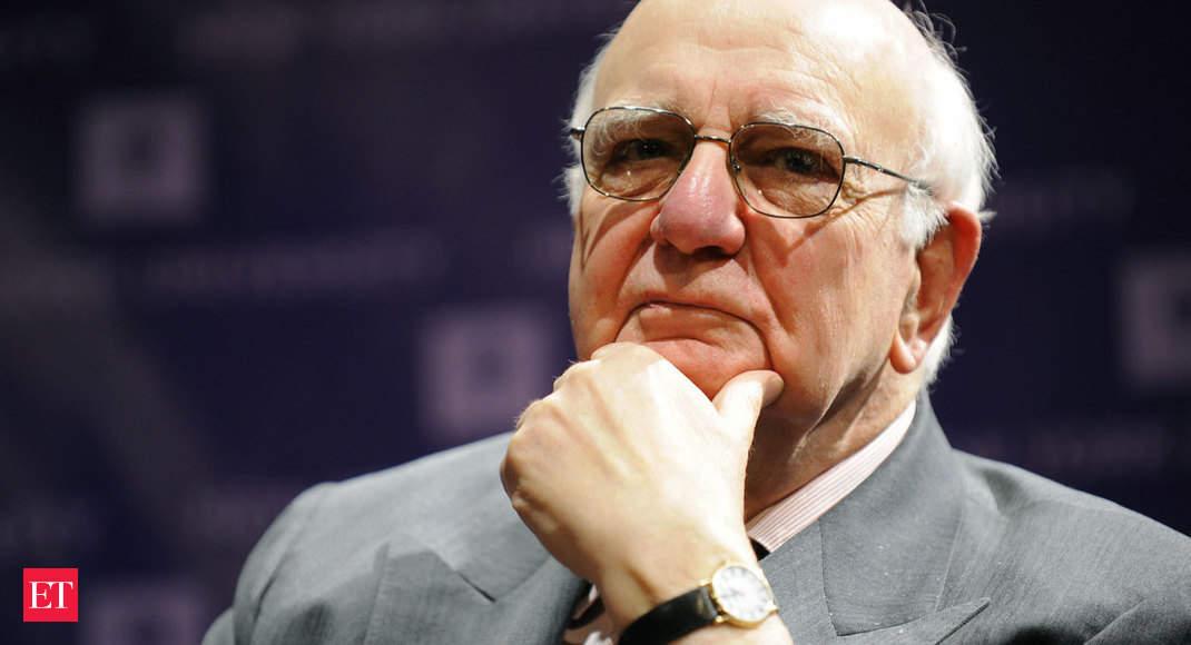 Paul Volcker was the first monetary rockstar - Economic Times thumbnail