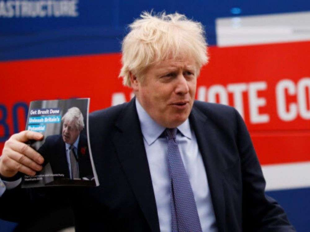 Johnson leads polls as election enters final days
