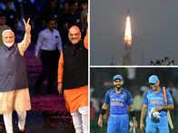 PM Modi's Lok Sabha win tweet tops 2019 India list; Kohli's wish for MSD, #Chandrayaan2 also ruled