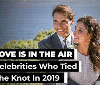 Love Is In The Air: Celebrities Who Tied The Knot In 2019