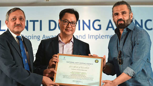 Suniel Shetty becomes brand ambassador of NADA