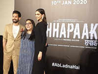 Deepika Padukone tears up at 'Chhapaak' trailer launch, calls it career's most special film